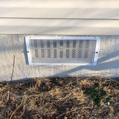 foundation vent cover